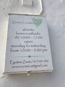 Keramik Zerain