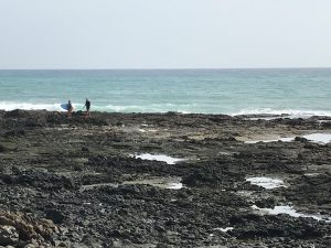 Meerspaziergang Punta Mujeres
