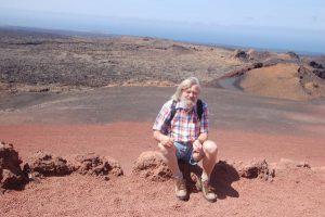 Vulkanwanderung im Timanfaya