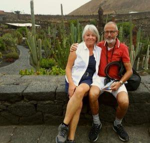 Wohlfühlpacket für Herbsturlauber. Christa und Berne entschieden sich in ihrem ersten Urlaub auf Lanzarote zu einem Domizil in den Bergen Lanzarotes. Bericht hier.