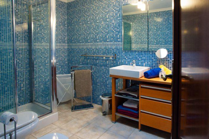 grosses Duschbad im Ferienhaus