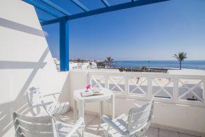 Balkon zum Meer Lanzarote Arrieta