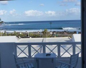 Ausblick aus dem Ferienhaus Casa el Lago