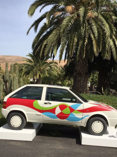 Mietwagen designed von Cesar Manrique