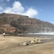 Grosser Sandstrand Orzola