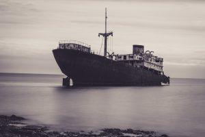 Telamon - gesunkenes Schiff Arrecife