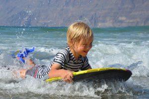 Surfen Famara Beach