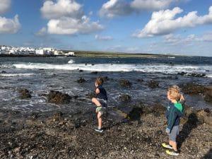 Ferienhaus einen Steinwurf vom Meer entfernt
