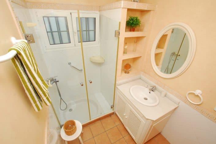 Duschbad in der Ferienwohnung