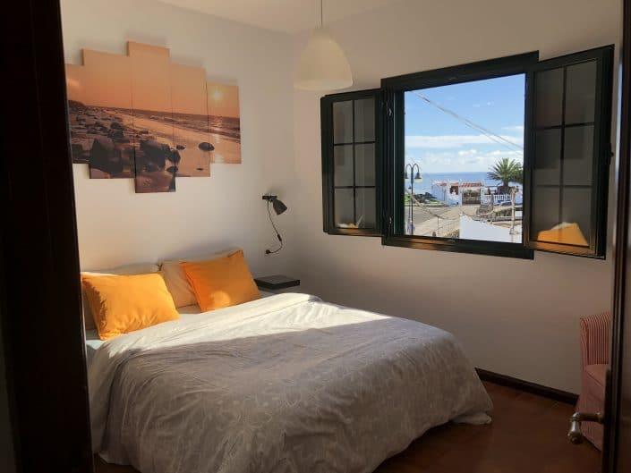 Schlafzimmer am Meer in Arrieta