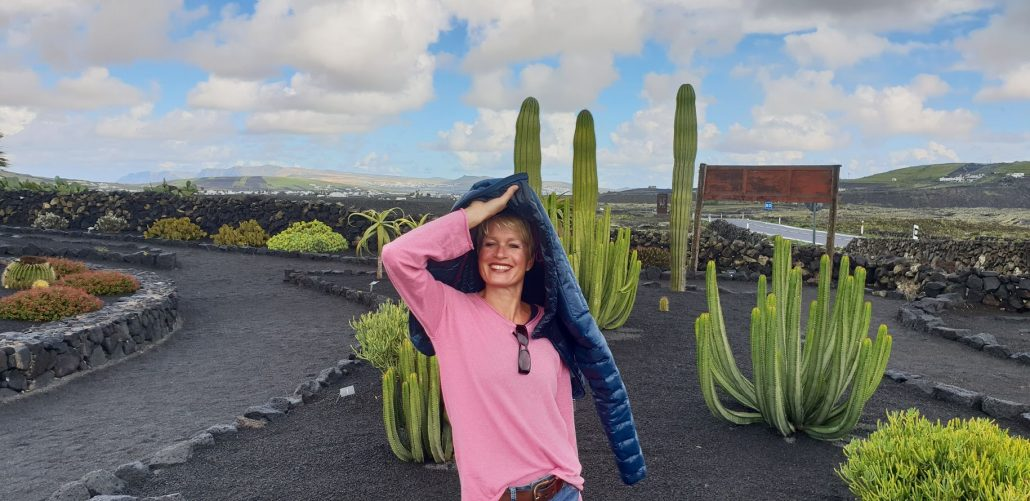 Kaktusgarten, Nähe vom Ferienhaus in Arrieta