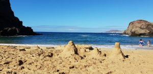 Arrieta Ferienhaus, weisser Sandstrand Lanzarote