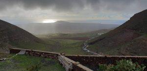 Arrieta Ausblick in die Natur von Lanzarote am Meer