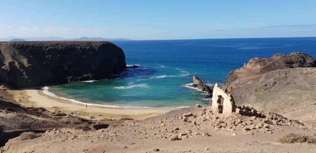 Ausflug auf der Insel Lanzarote direkt am Meer