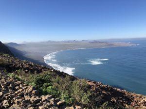 Ausblick auf der Wanderung Haria