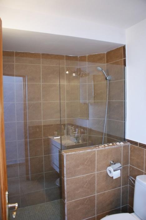 Duschbad im Ferienhaus