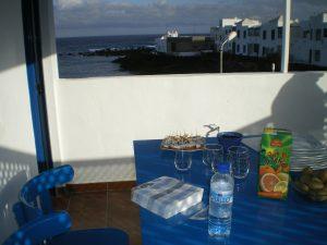 Fischerhaus in Punta Mujeres direkt am Meer