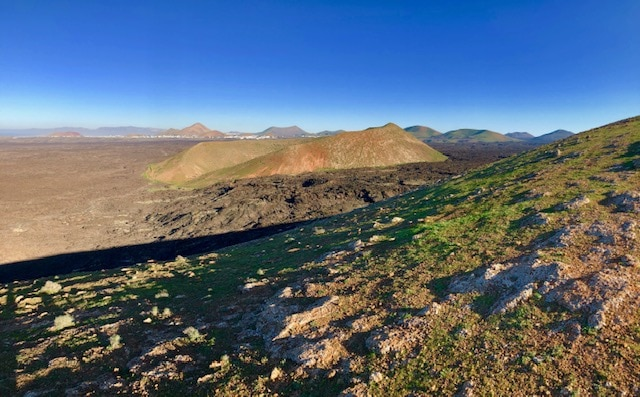 Wanderung Caldera Blanca in der Nähe vom Ferienhaus