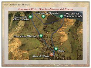 Wanderung rund um Haria Lanzarote