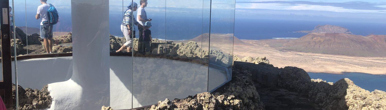 Mirador del Rioa auf der Wanderung Lanzarote