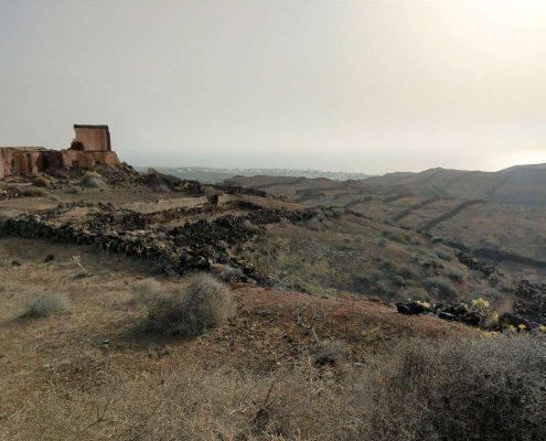 Sicht auf Charco del Palo