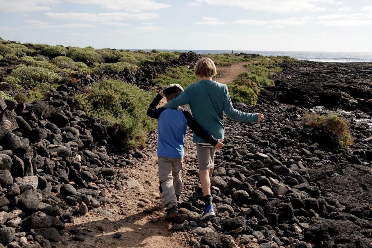 Wanderung am Ferienhaus Lanzarote