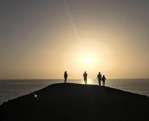 Sonnenuntergang Arrieta Lanzarote