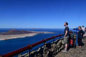 Mirador del Rio vom Ferienhaus am Meer