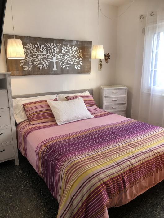 Schlafzimmer im Ferienhaus am Meer Lanzarote