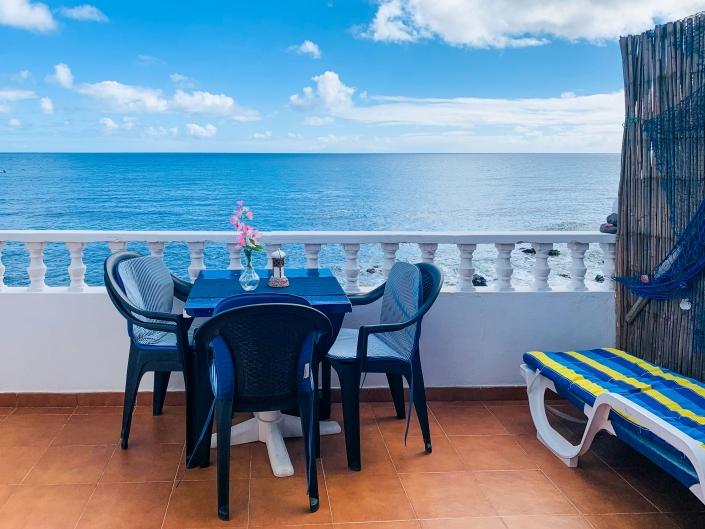 Balkon zum Meer-Arrieta